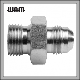 Hose Shop   BSPP Pipe x JIC BSP Male - Adaptors (Steel