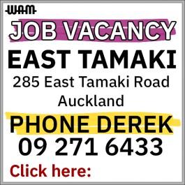 Job Vacancy - East Tamaki