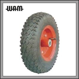 Pneumatic Wheel - Steel Rim 4 Ply Tyre