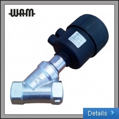 2 Way Angle Seat Process Valve - Air Operated –    316 Stainless Steel