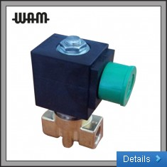 2 Way Direct Acting Solenoid Valve - Brass