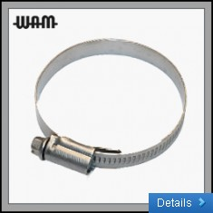 W4 SS Hose Clips 12mm