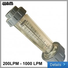 "6-bar 1"" Flow Meter"