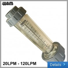"10-bar 1"" Flow Meter"