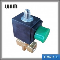 3 Way Direct Acting Solenoid Valve- Brass