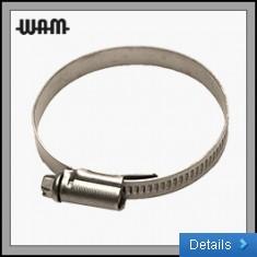 W4 SS Hose Clips 9mm