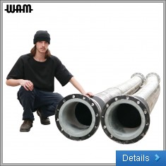 Large-Bore Hose Assemblies With Swivel-Flanged Ends
