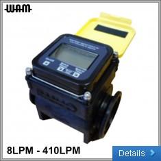 """Yellow 1"""" Flow Meter"""