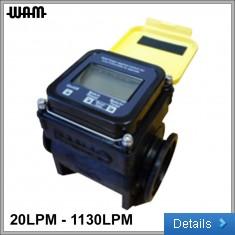 """Yellow 2"""" Flow Meter"""