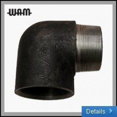 Steel Elbow M/ F