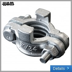 Clamp Hose C/W Safety Claw