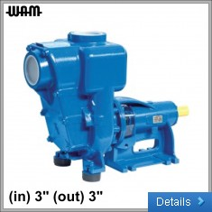3PH Horizontal Axis Self-Priming Pump