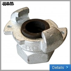 Minsup Galvanised Claw Coupling [F]