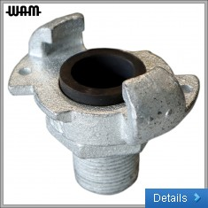Minsup Galvanised Claw Coupling [M]