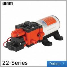 22-Series 12V Diaphragm Pump