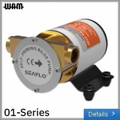01-Series 24V Self-Priming Bilge Pump