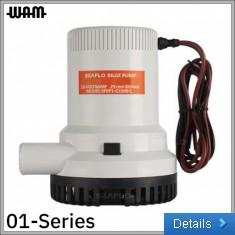 01-Series 24V 1500GPH Bilge Pump