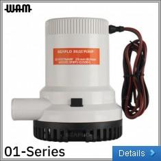 01-Series 24V 2000GPH Bilge Pump