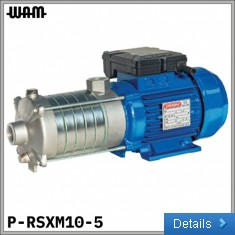 230V Horizontal Multi-Impeller Pump