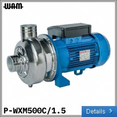 230V SS Open-Impellor Centrifugal Pump