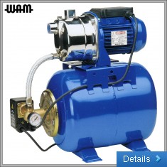 230V Self-Priming Jet Pump with Pressure Tank