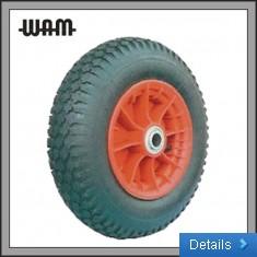 Pneumatic Wheel - Plastic Rim 4 Ply Tyre