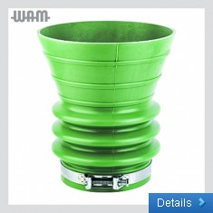 Rubber Funnel With Locking Clamp