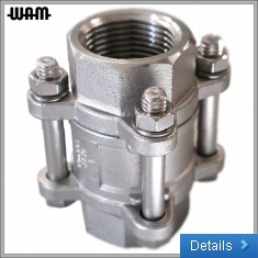 Stainless Wafer Disc Check Valve