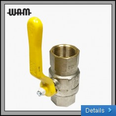 Gas Rated Ball Valve