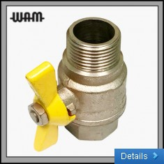 Gas Rated Ball Valve MF (T Handle)