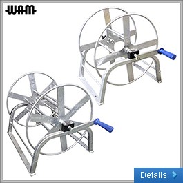 Galvanised Heavy-Duty Hose Reel