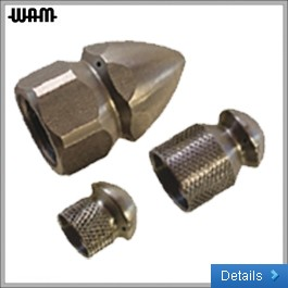Four-Hole Sewer Cleaning Nozzle