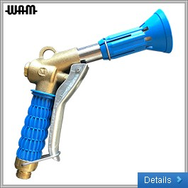 Spray Gun With Sprinkle Guard